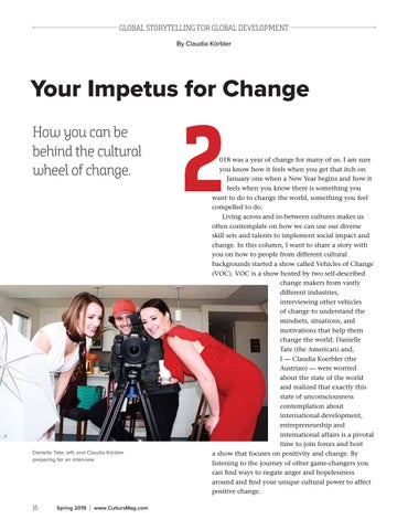 Page 16 of Your Impetus for Change