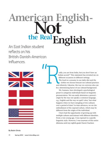 Page 18 of American English - Not the Real English?