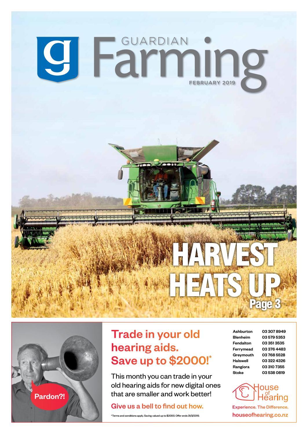 Guardian Farming February 2019 By Ashburton Guardian Issuu