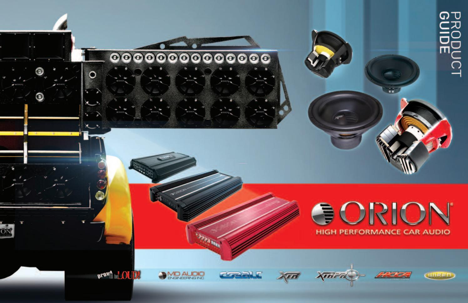 Orion Cokit2 Car Audio 1//0 Guage Amplifier Wiring Installation Kit 4000W Cable