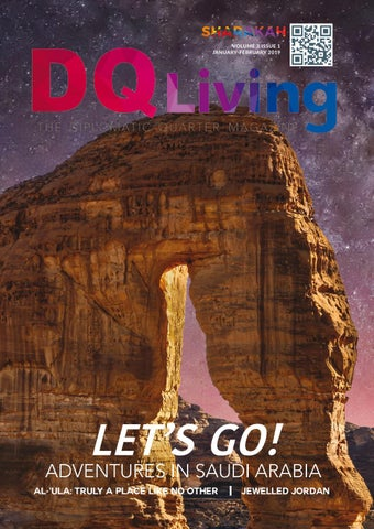 fec3e3da473 Vol. 3 Iss. 1 DQ Living Let's Go! Adventures in Saudi Arabia by DQ ...