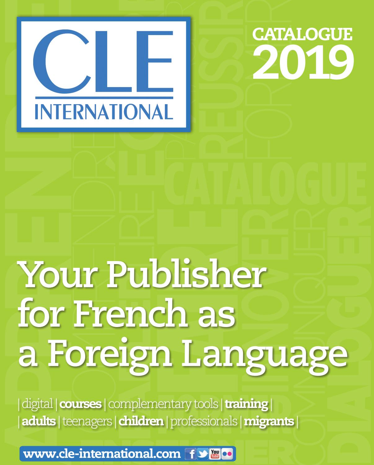 Cle International 2019 Catalogue In English By Cle International Issuu