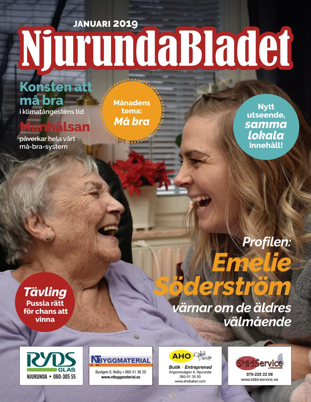 Cecilia Nordenberg, 52 r i Njurunda p Njurundavgen 87