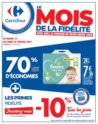 d0f0b1e18295d Catalogue Carrefour Du 12 Au 25 Février 2019 by Monsieurechantillons ...
