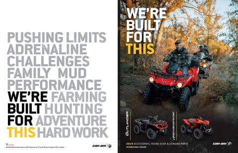 2012-2014 Can-Am 1000 Outlander STD DPS 4x4 ATV New 2-Inch Lift Kit XT