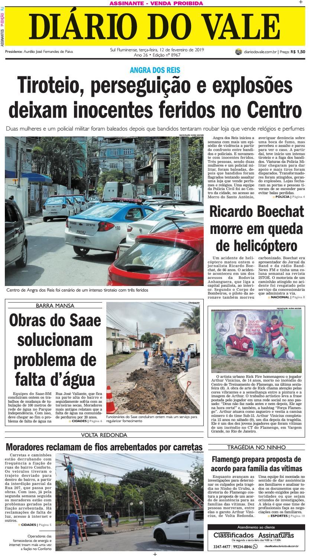 c87775688 8967 - Diario - Terça-feira - 12.02.2019 by Diário do Vale - issuu