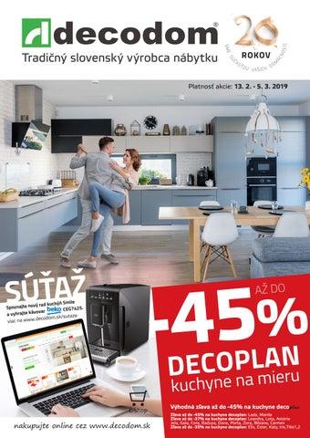 684537142e14 Tradičný slovenský výrobca nábytku Platnosť akcie  13. 2. - 5. 3. 2019