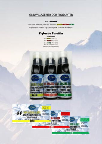 Page 3 of Glidvalla och produkter