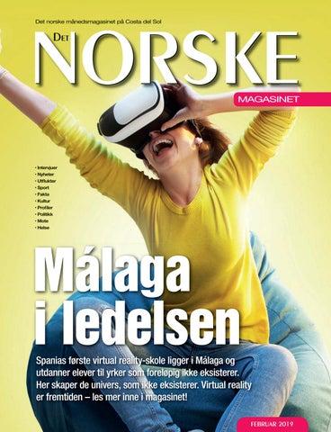 24a15ce5 Det Norske Magasinet Februar 2019 by Norrbom Marketing - issuu