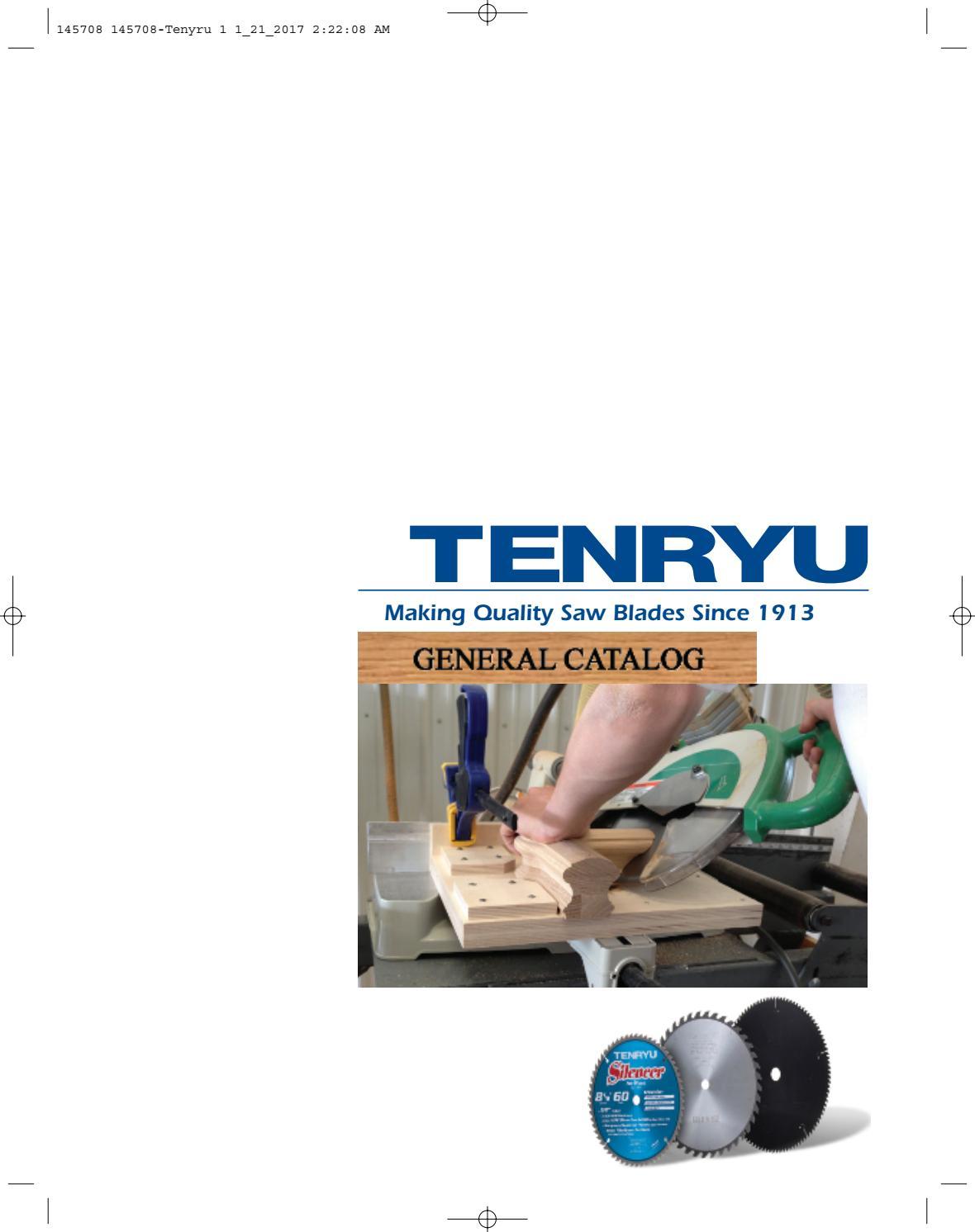 TENRYU PRF-18548BWK 7-1//4-Inch Steel Cutting Carbide Tipped Saw Blade
