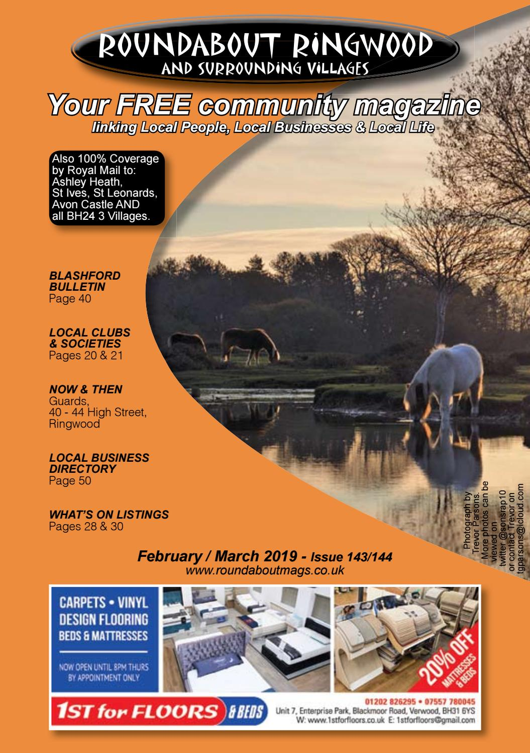 Roundabout Ringwood February 2019 By Sue West Issuu