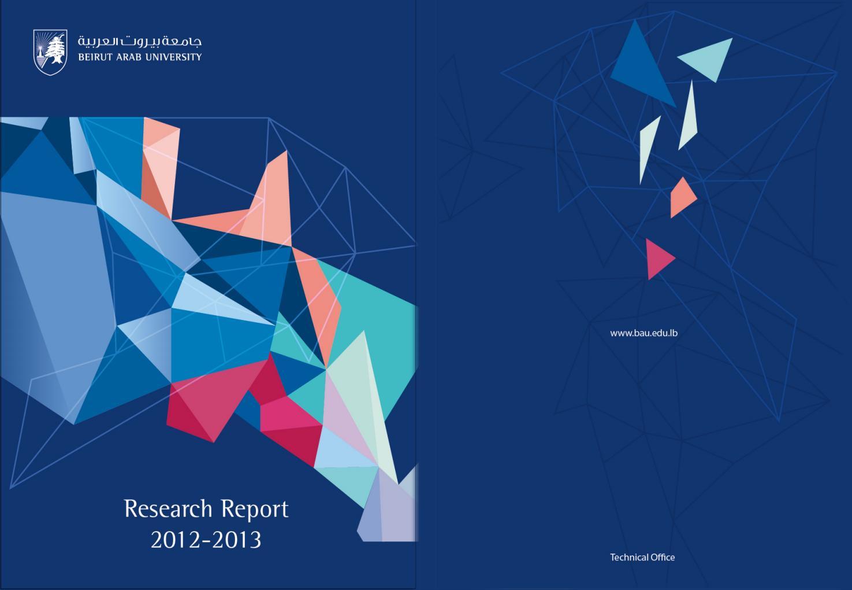 a4bafad8618de Research Report (2012-2013) by BAUWebsiteOffice - issuu