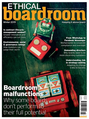 Ethical Boardroom Winter 2019 by Ethical Boardroom - issuu