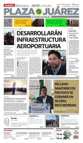 12-02-19 by Diario Plaza Juárez - issuu 291121be44532