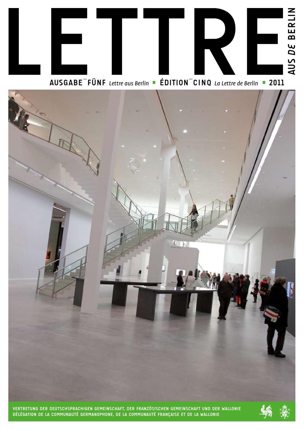 Lettre deaus Berlin #5 by Wallonie Bruxelles International