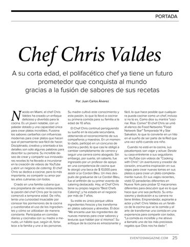 Page 25 of Chef Chris Valdes