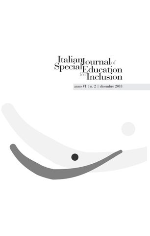 2636d534f8 Italian Journal Of Special Education For Inclusion N. 2 – 2018 by ...