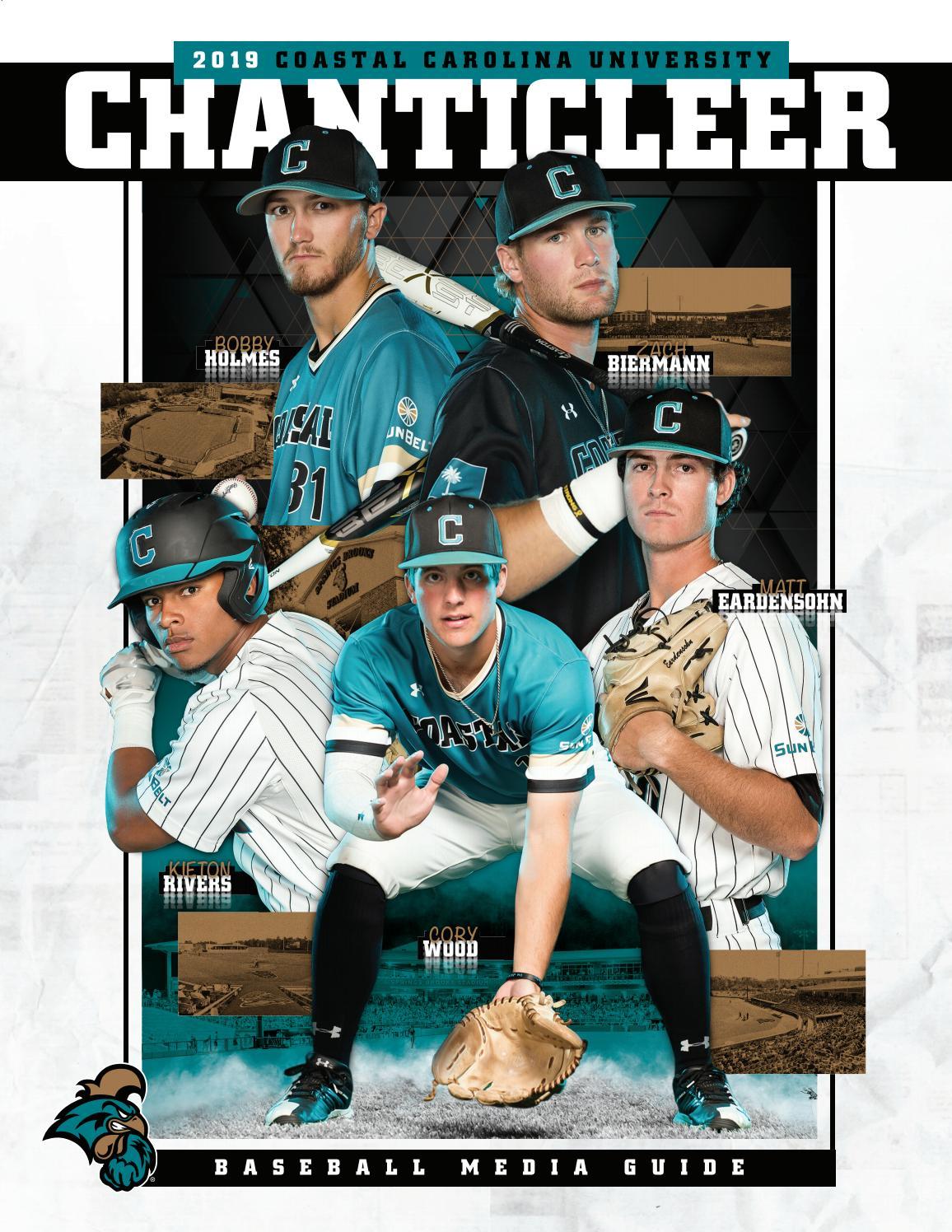 2019 Coastal Carolina University Baseball Media Guide by