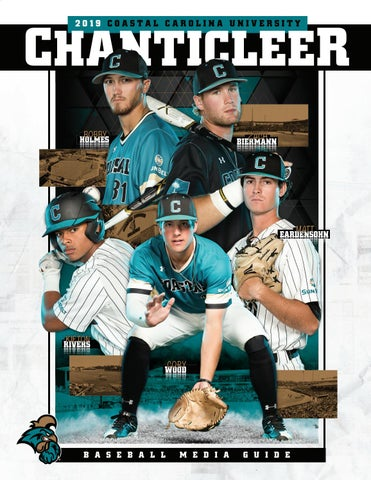 9fe367e1d9c 2019 Coastal Carolina University Baseball Media Guide by Kevin Davis ...