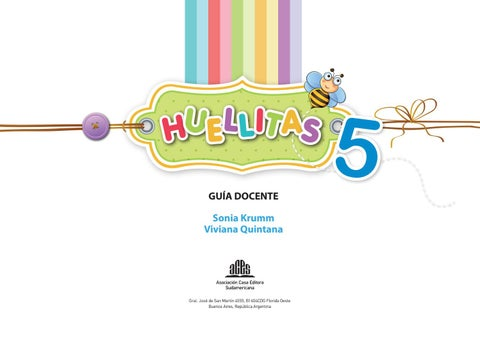 Huellitas 5 - GD by Editorial ACES - issuu c25a07d6f11