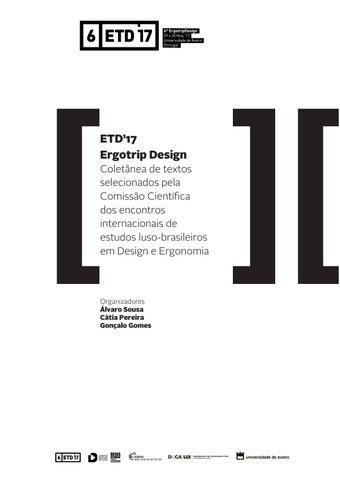 d9630017b616b ETD 17 Ergotrip Design Coletânea de textos selecionados by Ergotrip ...