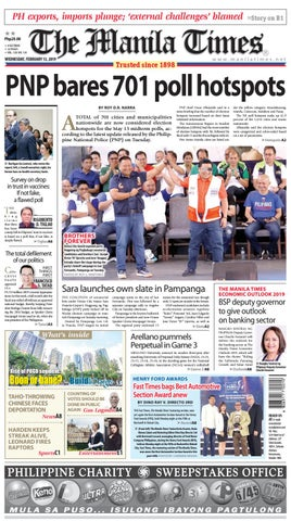 THE MANILA TIMES |FEBRUARY 13, 2019 by The Manila Times - issuu