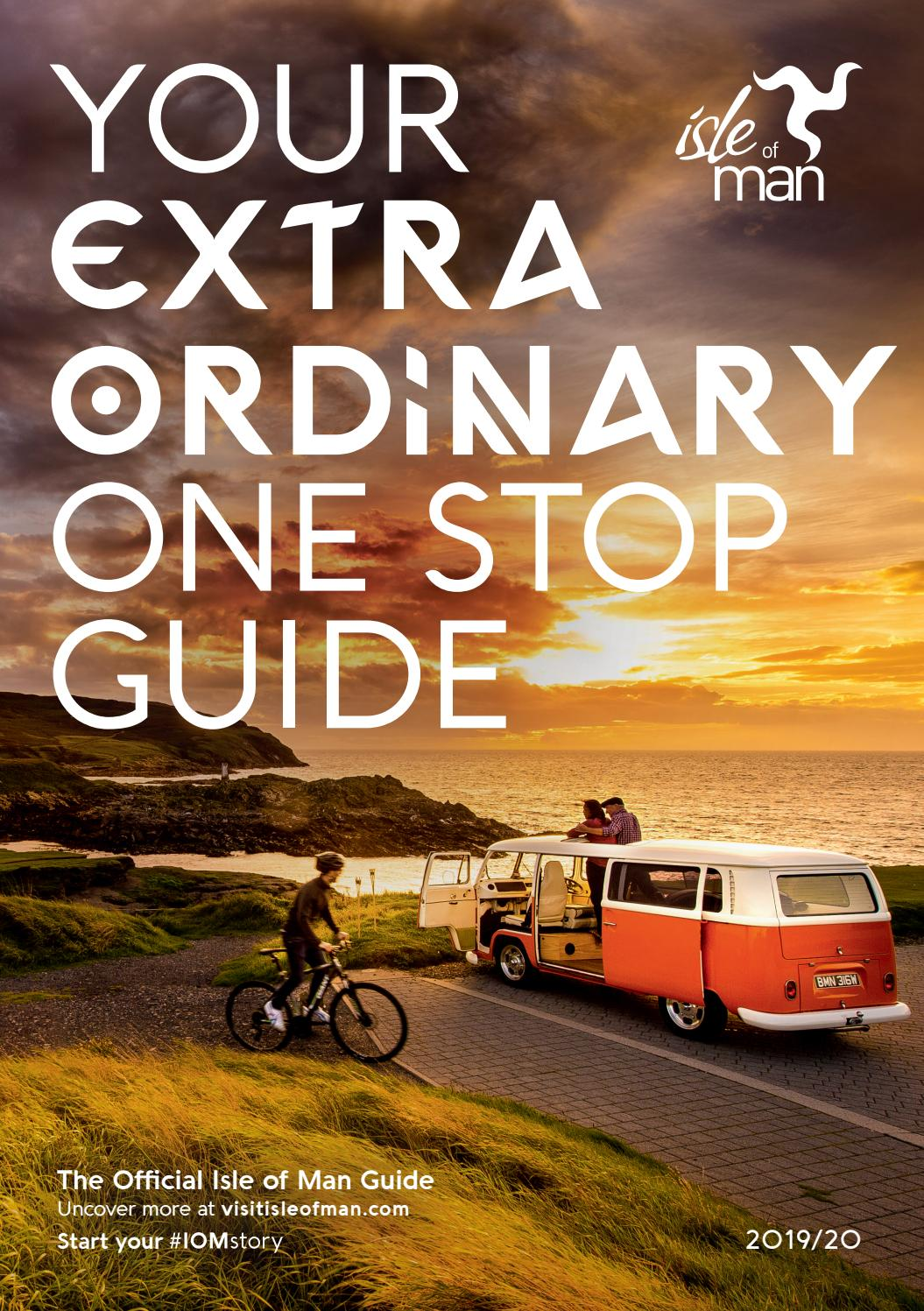 Isle of Man One Stop Guide 2019/2020 by Visit Isle of Man