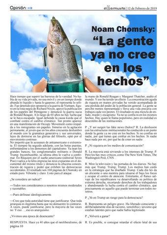 """Page 10 of """"La gente ya no cree en los hechos"""""""