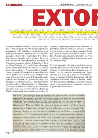 Page 20 of EXTORSIÓN