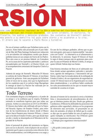 Page 21 of EXTORSIÓN