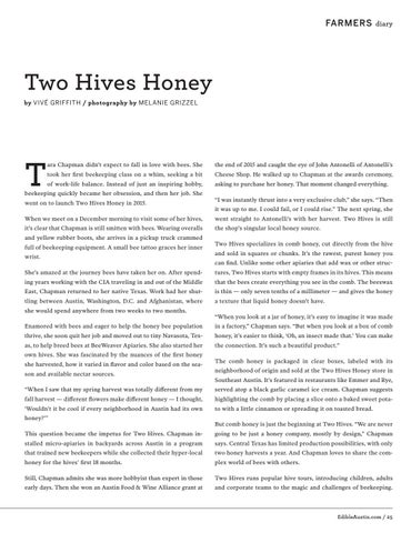 Page 25 of Two Hives Honey