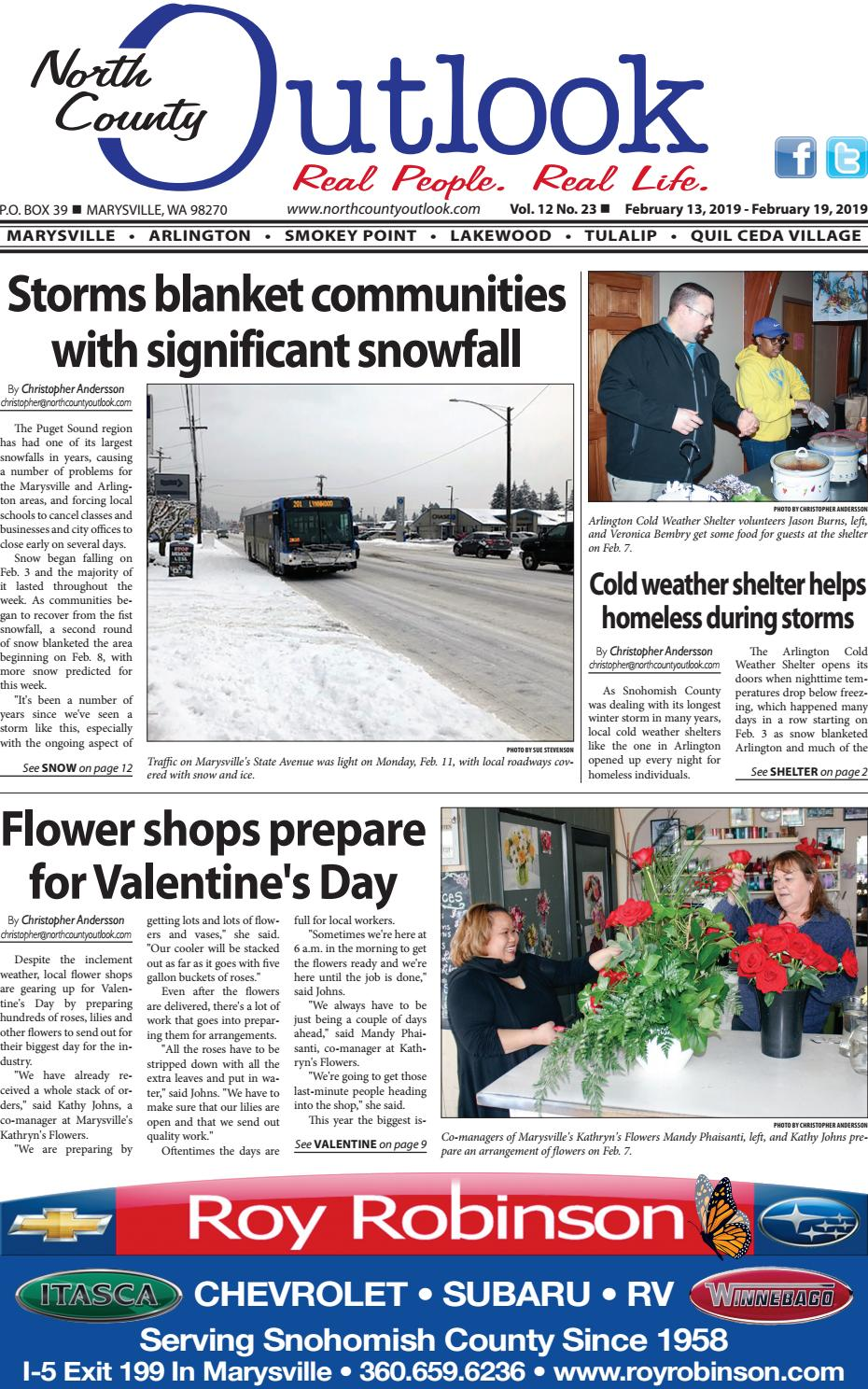 Feb  13, 2019 North County Outlook by The North County