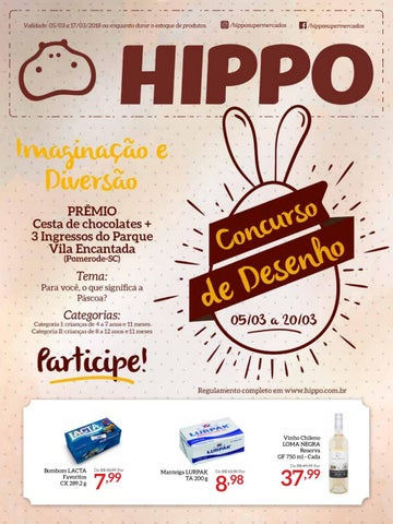 c026ae0ed Tabloide Hippo Supermercados - 05/03 a 17/03/2018
