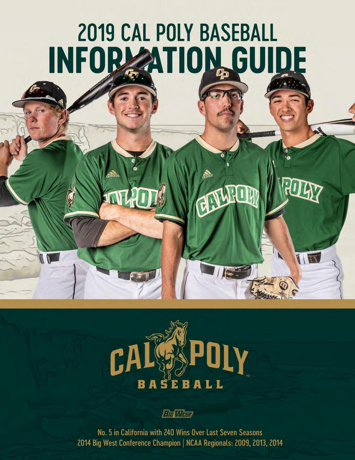 402f9244d 2019 Cal Poly Baseball Team Information Guide by Cal Poly Athletics - issuu