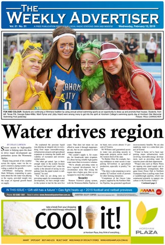 1095c6358 The Weekly Advertiser - Wednesday, February 13, 2019 by The Weekly ...