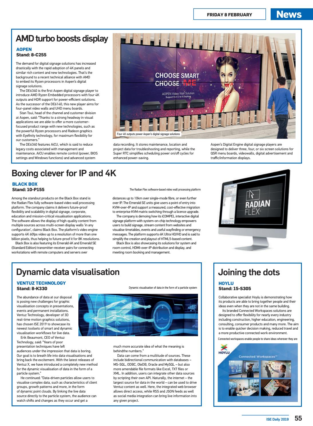 ISE Daily Friday 08 February 2019 by Future PLC - issuu