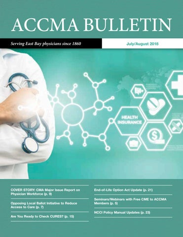 ACCMA July/August 2018 Bulletin by ACCMA - issuu