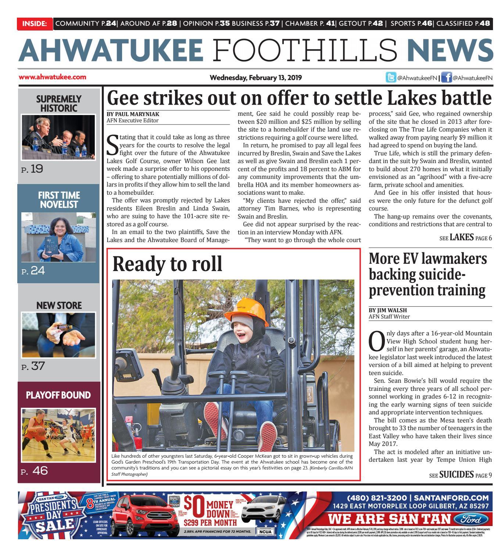 902cacba956b Ahwatukee Foothills News - February 13
