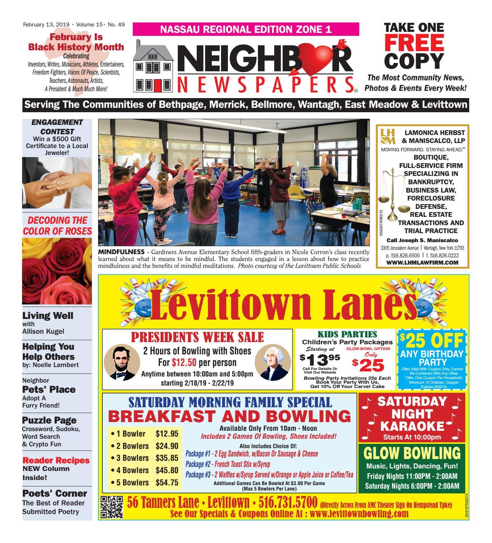 February 13, 2019 Nassau Zone 1 by South Bay's Neighbor