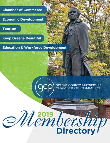 Greene County Partnership Directory 2019 by The Greeneville