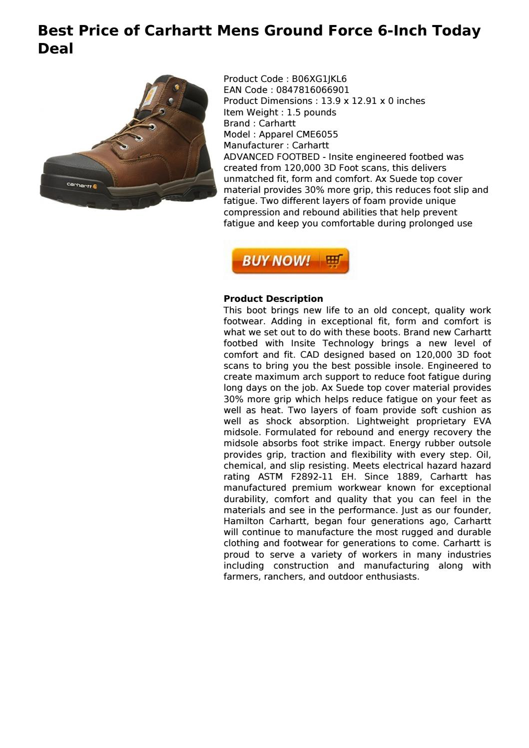 ca2c87e88ab carhartt mens ground force 6 inch today deal by ray.freeman - issuu