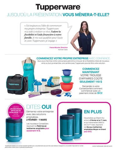 salaire tupperware impots