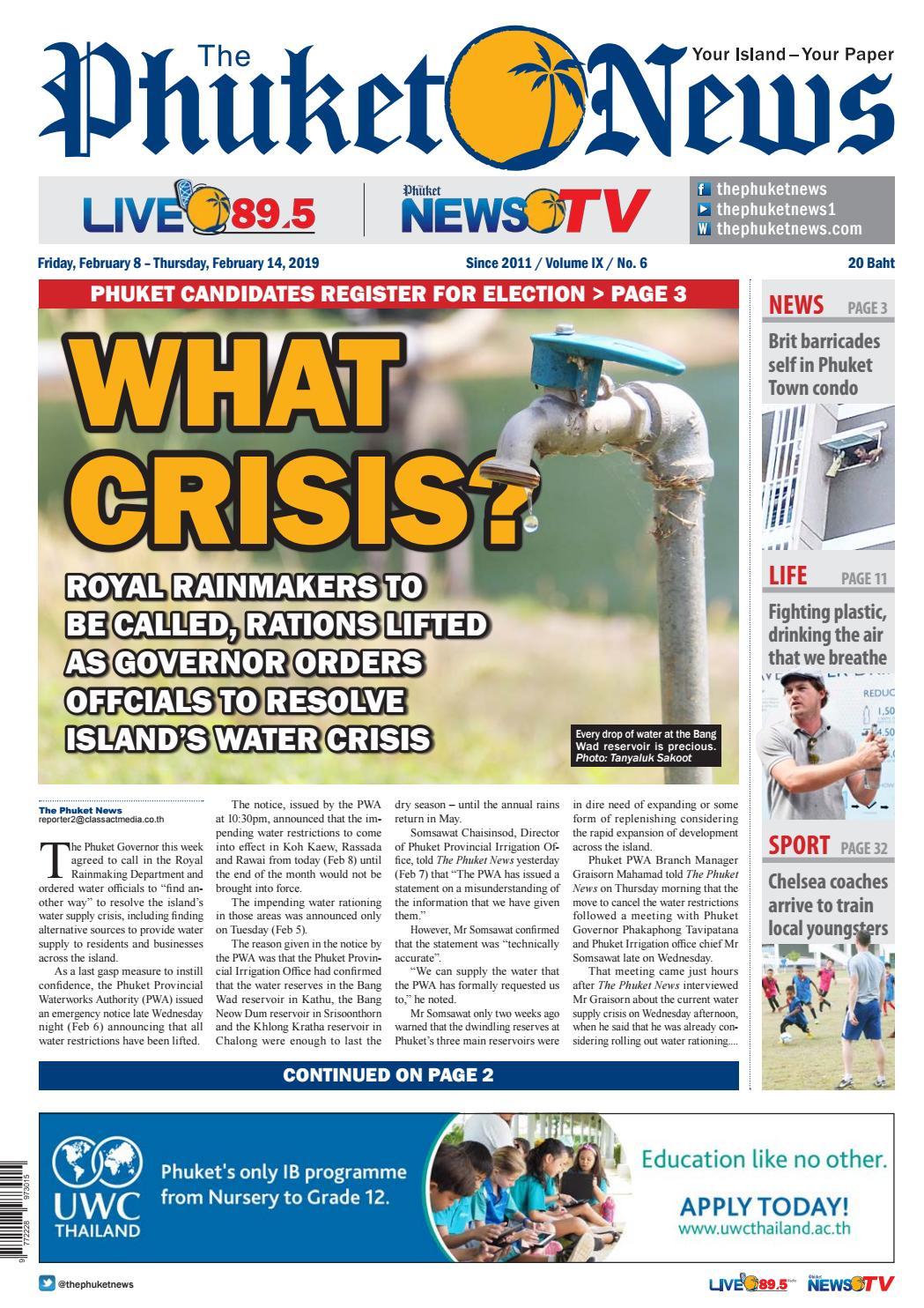 The Phuket News 08 February 2019 by The Phuket News - issuu