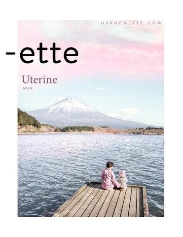 Uterine by Hyphenette - issuu