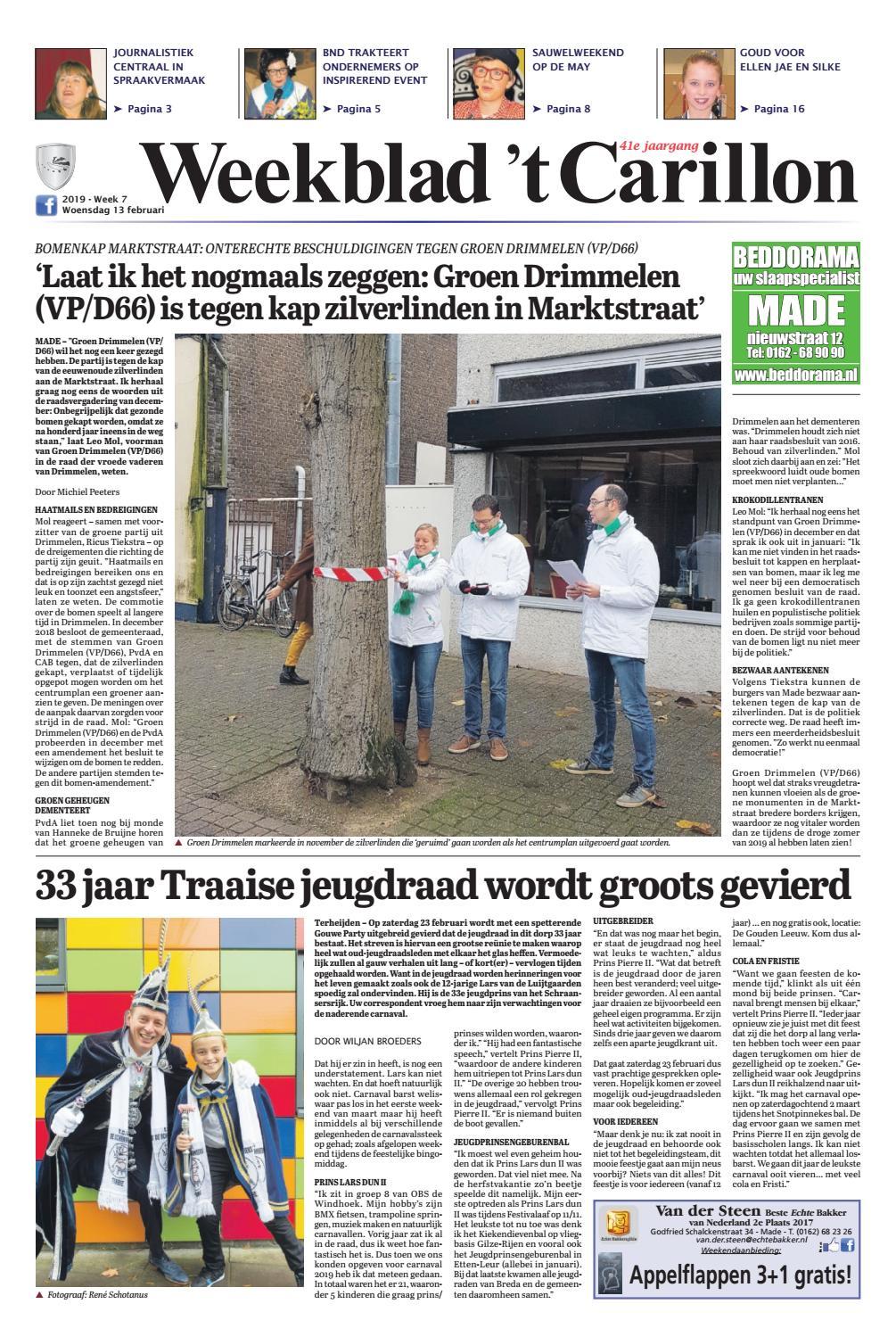 Weekblad  t Carillon 13-02-2019 by Uitgeverij Em de Jong - issuu 5f06686094