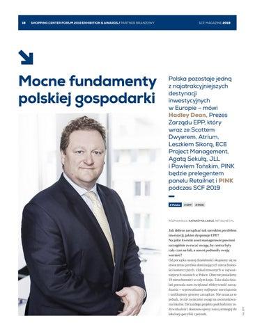 Page 18 of Hadley Dean, Prezes Zarządu EPP: Mocne fundamenty polskiej gospodarki
