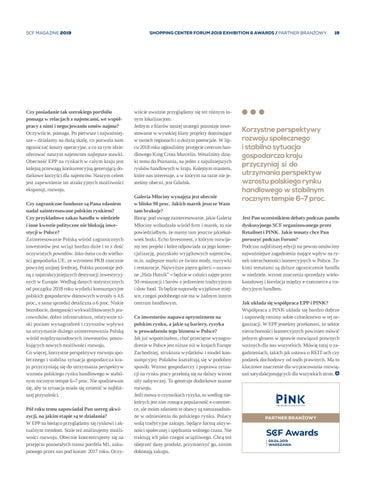Page 19 of Hadley Dean, Prezes Zarządu EPP: Mocne fundamenty polskiej gospodarki