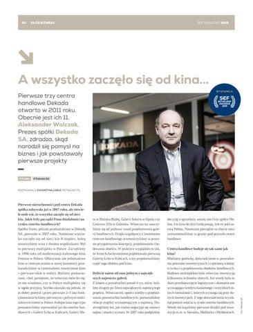 Page 60 of Aleksander Walczak, Dekada: A wszystko zaczęło się od kina…