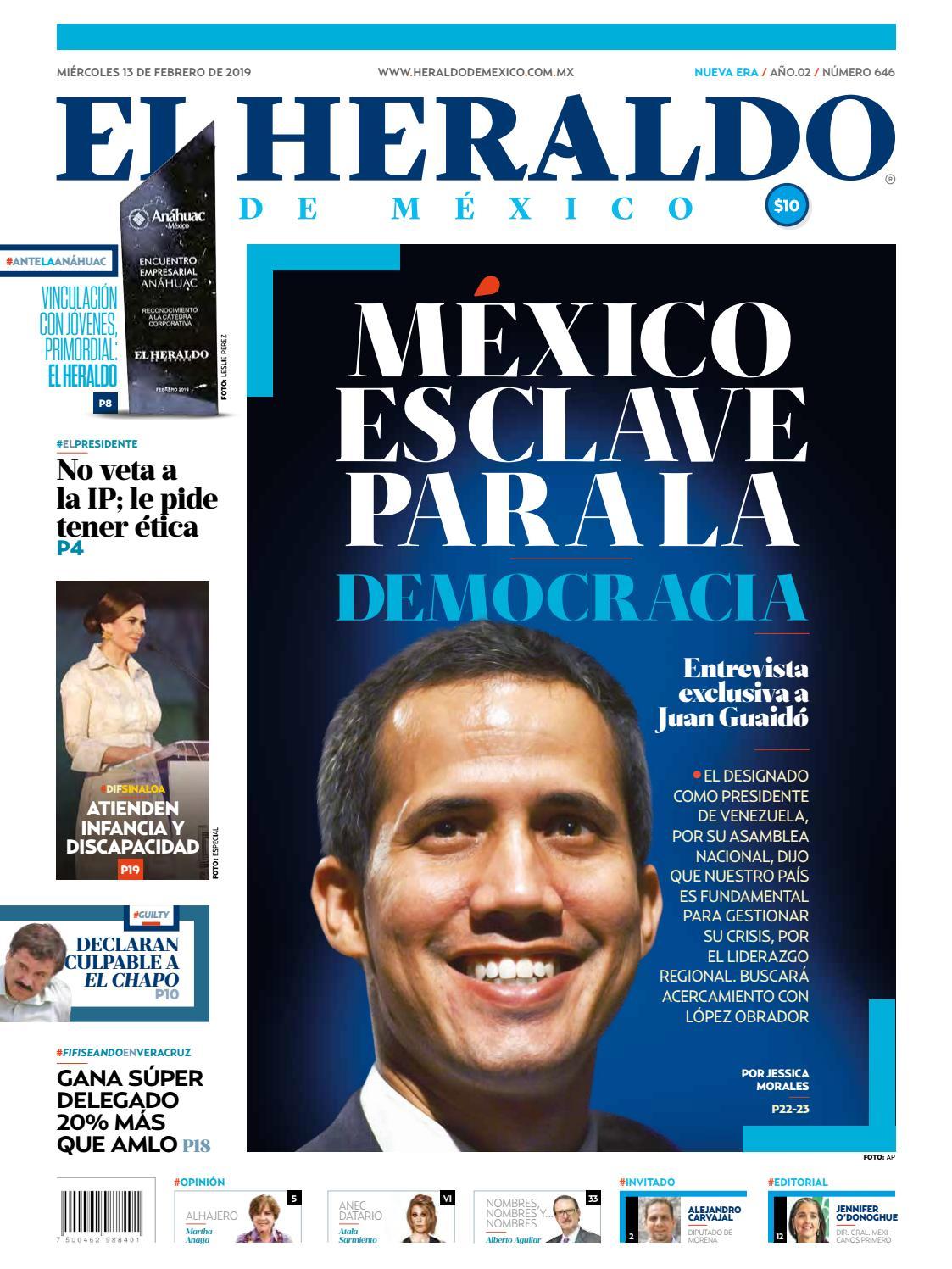 13 De Febrero De 2019 By El Heraldo De México Issuu