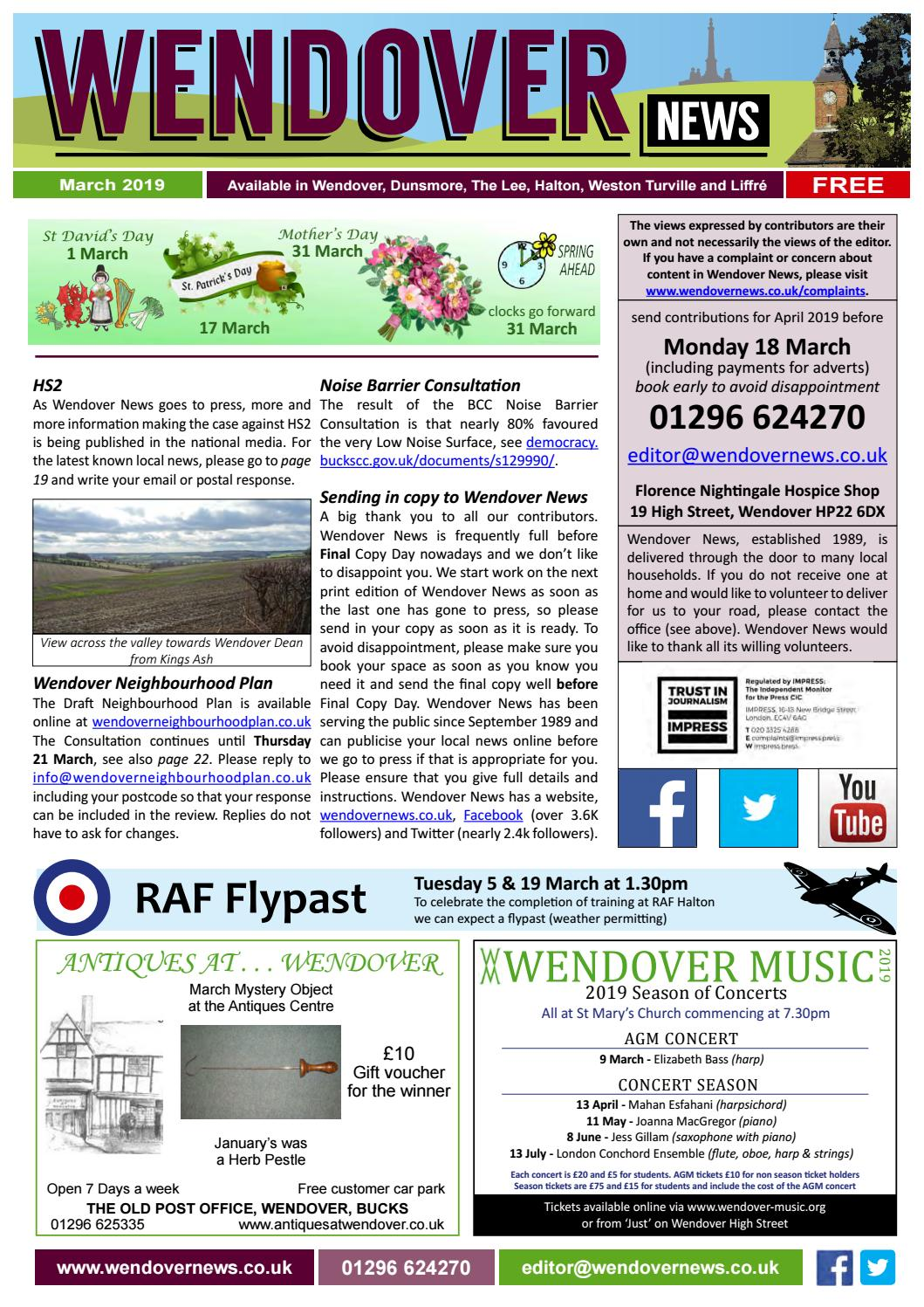 dd7a14c5 Wendover News March 2019 by Wendover News - issuu
